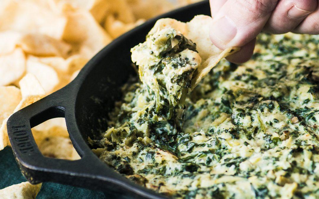 Warm Spinach & Artichoke Dip